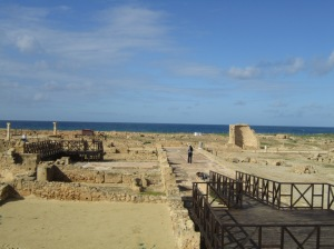 Paphos Archeological Site - Roman town 58 B.C to approx. 400 A.D. A World Heritage Site