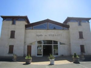 Tasting Room and cellars:  Vignobles des Verdots