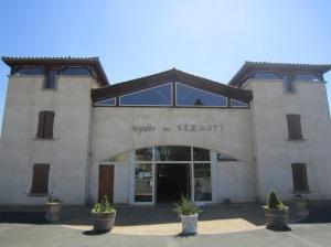 Tasting Room and cellars:  Vignobles des Verdots