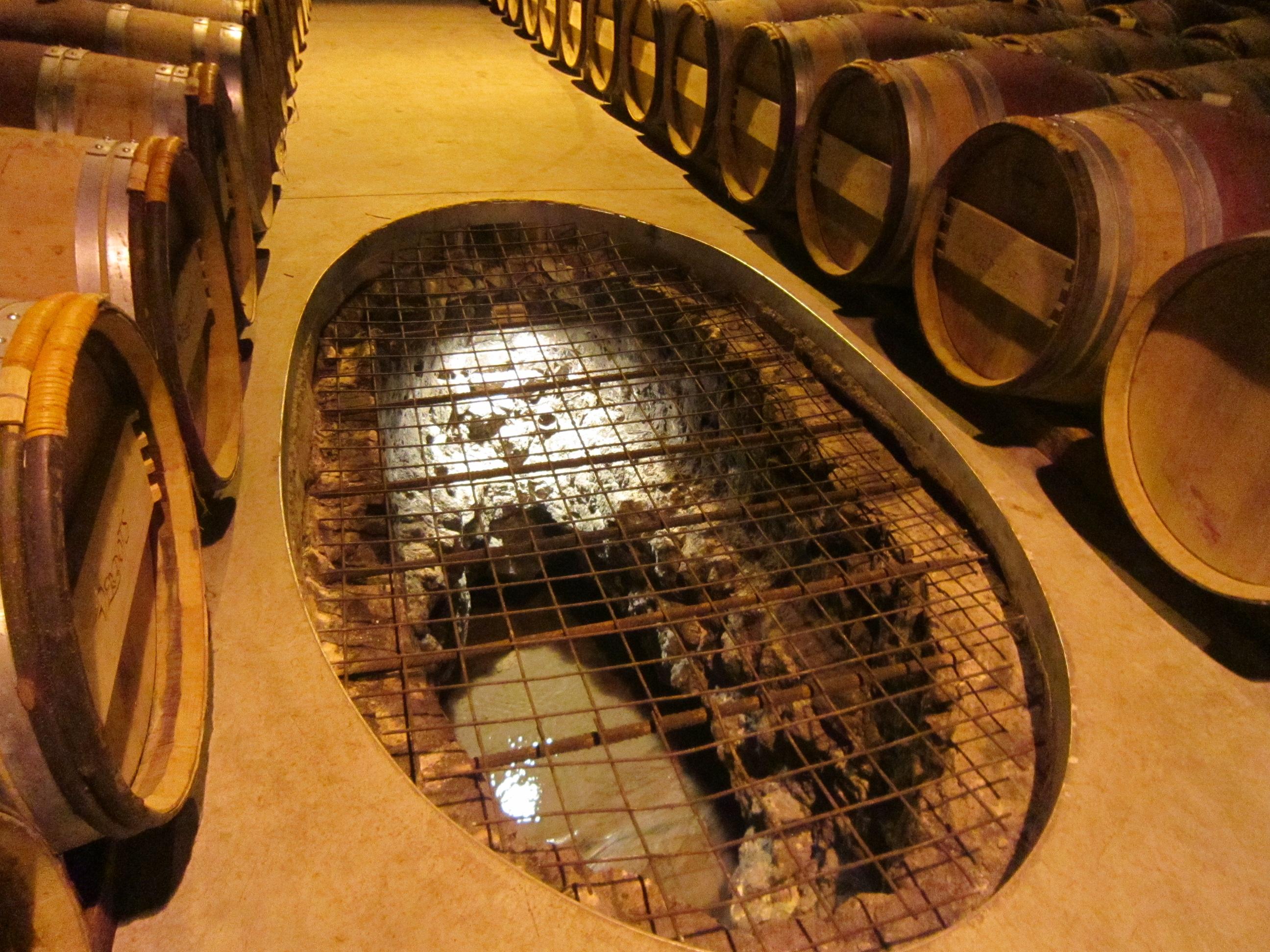 August 2013 elizabethsvines for Wine cellar in floor