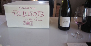 Grand Vin les Verdots by David Fourtout, owner and wine-maker