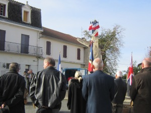 Armistice Day, 2013 with Les Anciens/ennes Combattants/es (Veterans)