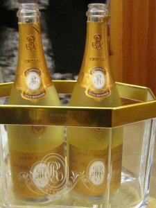 Cristal champagne, created by Roederer for Tsar Alexander II of Russia in 1876