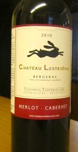 Chateau Lestevenie 2010 Bergerac Merlot Cabernet