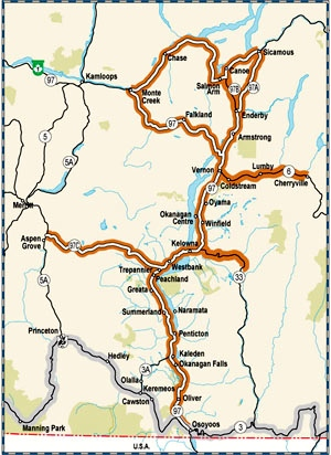 Okanagan Valley Corridor