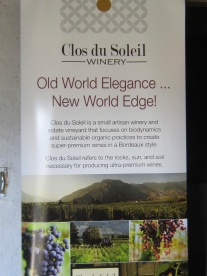 Clos de Soleil Winery