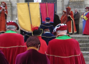 The colourful parade of confréries