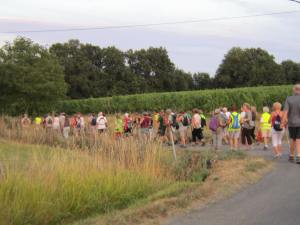 Hiking in the Dordogne with the Confrérie