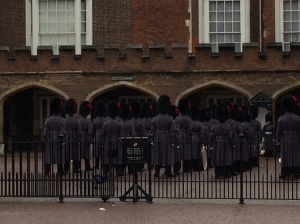 Ceremony at St James's Palace