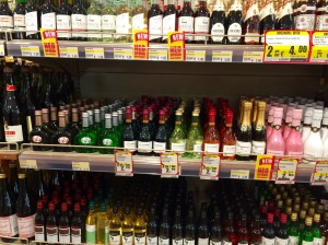 Small bottles of wine meet consumer interests - Paphos , Cyprus