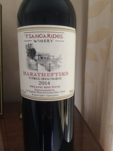Tsangarides Winery Maratheftiko organic wine