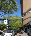 The Abbey from the town of Cassino