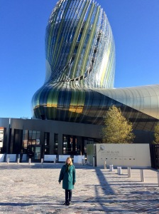 La Cité du Vin - experiencing the scale and colours