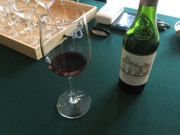 Tasting the 2011 Chateau Haut-Brion
