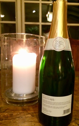 Enjoying English sparkling wine