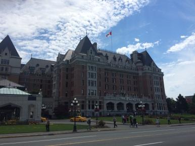Iconic Empress Hotel, Victoria