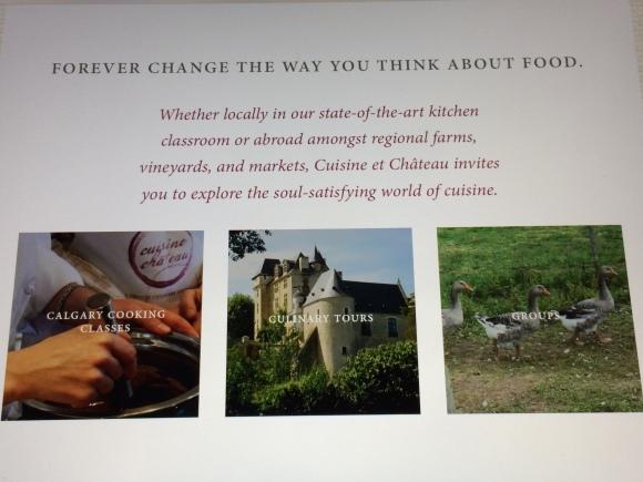 Marnie Fudge is co-proprietor of Cuisine and Château Culinary Centre