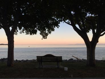 Sunset at Sechelt, Sunshine Coast, BC
