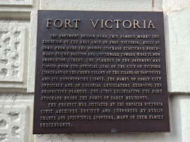 Victoria's early history: 1843 and on