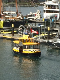 Water taxi in Victoria Harbour
