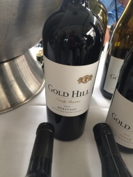 Gold Hill Meritage. An Okanagan Valley winemaker and winner of Lt. Governor Award Of Excellence