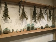 Herb Drying and Storage Room