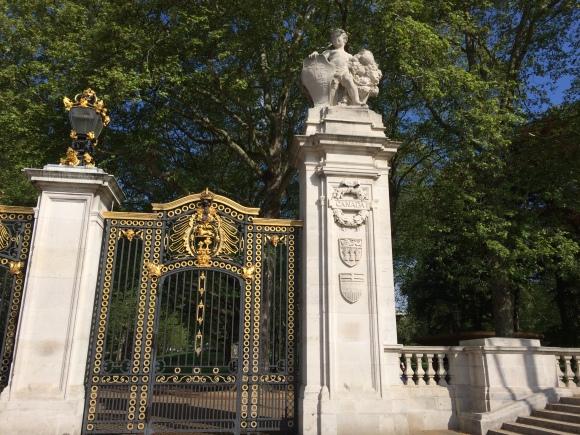 Canada Gate, The Mall, London