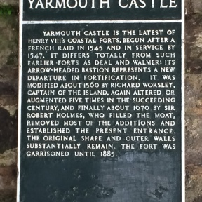 History of Yarmouth Castle