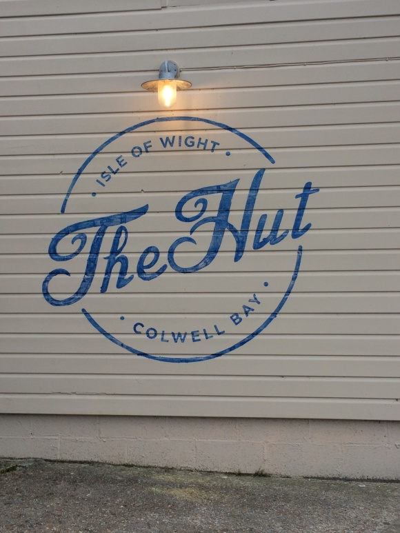 The Hut seafood restaurant, Colwell Bay, IOW