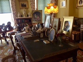 Queen Victoria and Prince Albert's sitting room/study at Osborne House where the Queen did much of her writing.