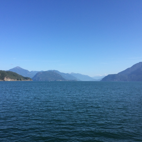 Beautiful British Columbia: the ferry ride from West Vancouver to the Sunshine Coast
