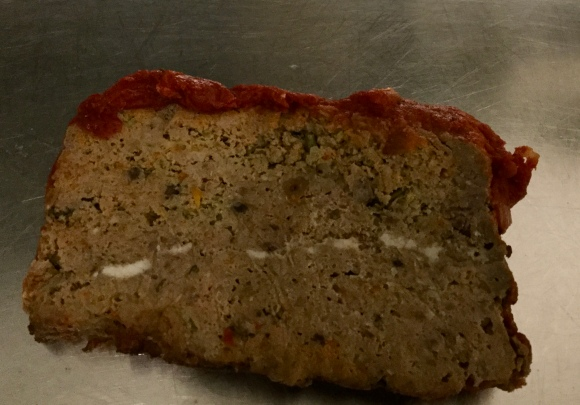Lamb and Feta Meatloaf slices well and freezes perfectly